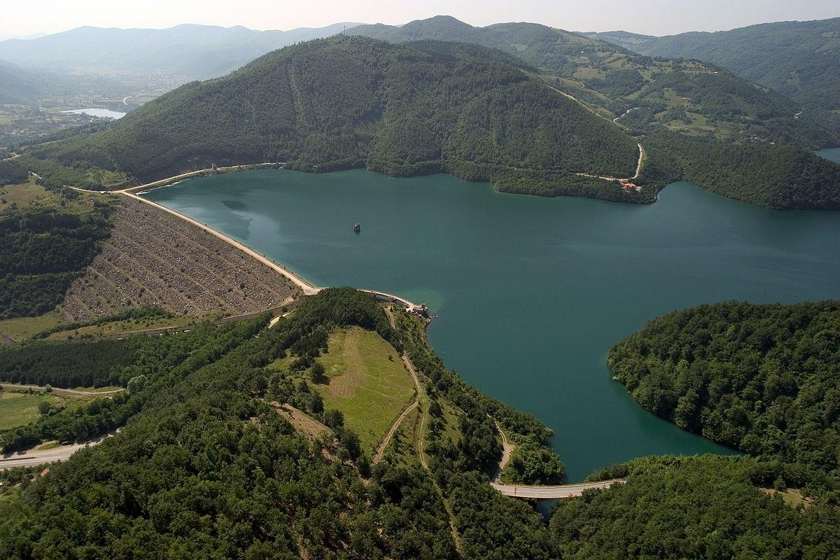 Ujmani/Gazivoda Lake Kosovo Mitrovica