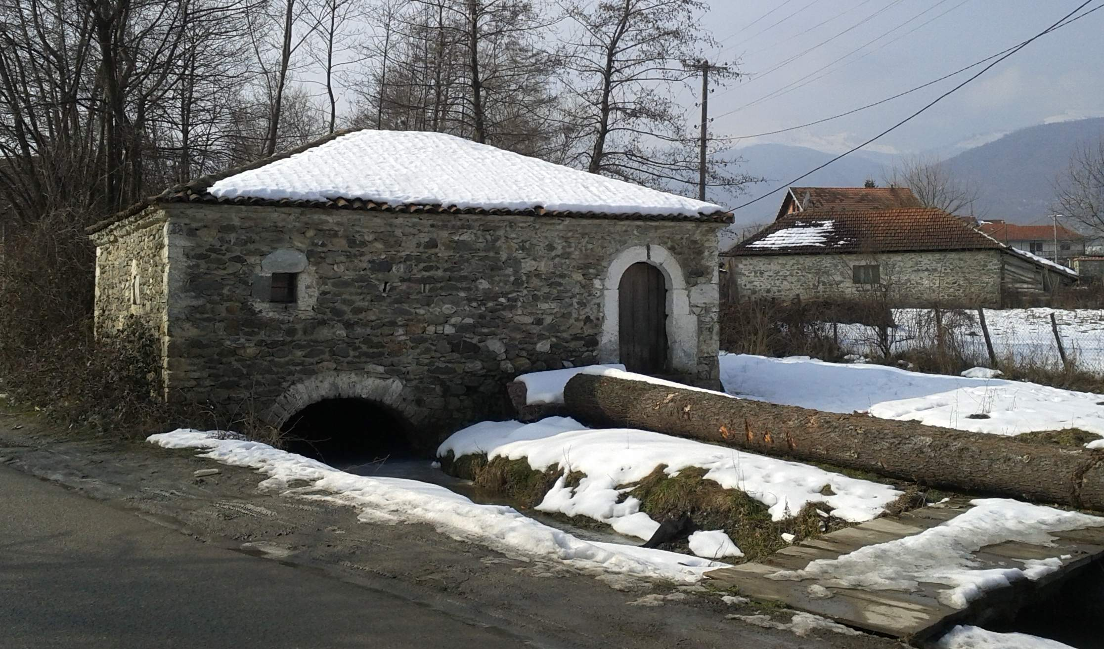 isniq water mill kosovo