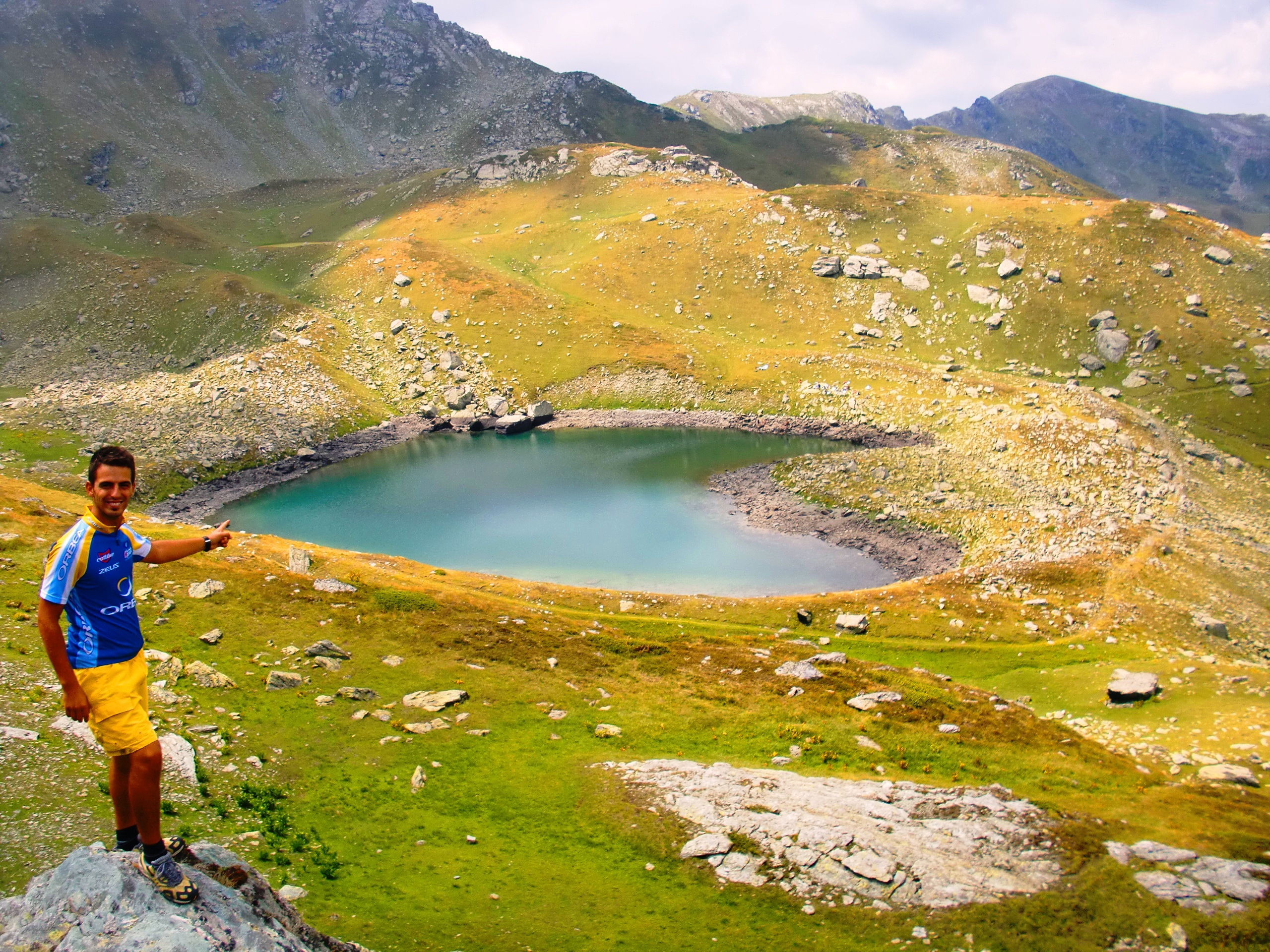 Heart Shaped Lake Junik Kosovo