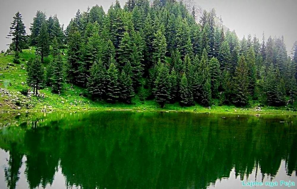 Leqinat Lake - Liqeni i Leqinatit Rugove Kosovo