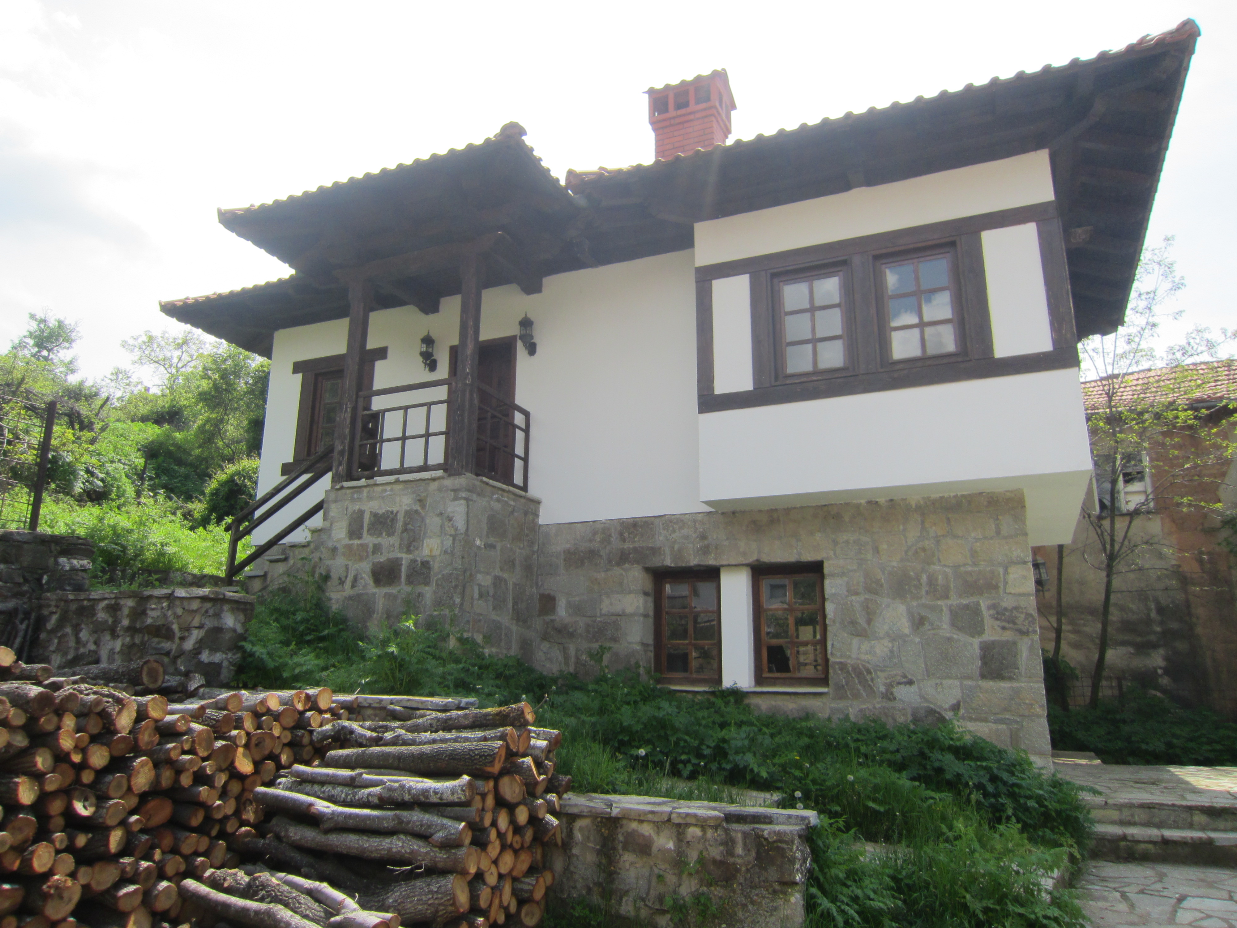 The house where Shtjefen Gjeçov was born